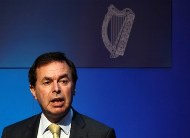Minister for Justice Alan Shatter. (File photo)
