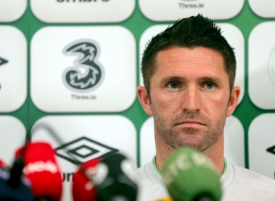 Keane: in search of goal number 60 tonight.