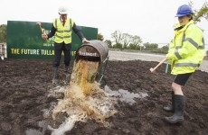 Sod is turned on Tullamore Dew distillery