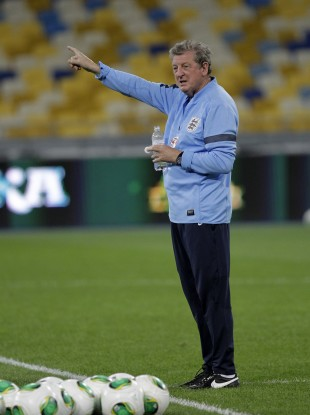 Roy Hodgson will be hoping his side know the way to goal against Ukraine tonight.