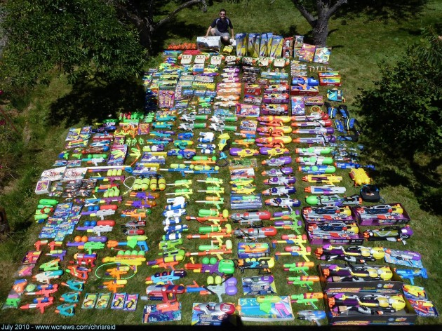 Massive Super Soaker collection - Imgur