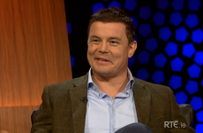 Brian O'Driscoll sets Grand Slam target in revealing Late Late interview