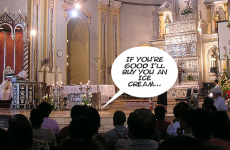 20 things that always happened at Mass