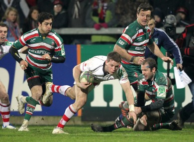 Ulster hammered Leicester in this fixture two seasons ago.