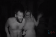 Take a trip inside a 'naked haunted house'