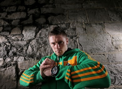 Quigley: hoping to bring world championship gold home to Donegal.