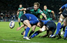 Kieran Marmion is the form scrum-half in Ireland at present