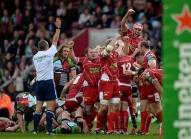 Ar Wenhaglas - PRO D2, poule 21 Rugby-union-heineken-cup-pool-4-harlequins-v-llanelli-scarlets-twickenham-stoop-390x285