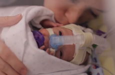 Dad captures the first year of his premature baby's life in heartwarming video