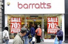 Jobs at risk as Barratts goes into administration for third time in four years