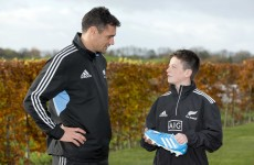 VIDEO: When All Black Dan Carter met George Morgan