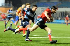 Munster secure emphatic victory over Cardiff Blues