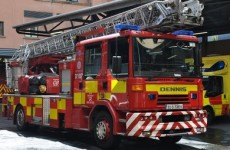 Gardaí investigating crash between Fire Brigade vehicle and taxi