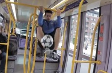 VIDEO: Irish freestyle champion takes his amazing skills around Dublin city