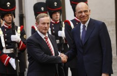 Buongiorno Enrico! Taoiseach meets with Italian prime minister today
