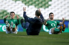 'We're up for it': Ireland in steely mood before toughest Test