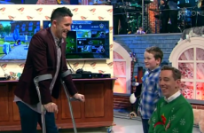Watch again: Domhnall meets hero Robbie Keane in amazing Toy Show moment