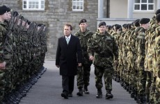 Shatter: No indications Irish troops in Syria are a target