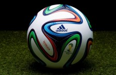 Adidas reveal the new ball for next summer's World Cup