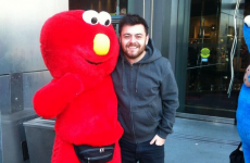 Elmo from Love/Hate met the real Elmo in Vegas