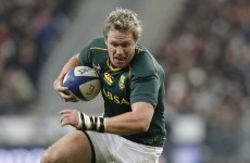 Springboks captain backs Munster for double over Perpignan