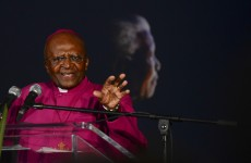 Archbishop Tutu's house was burgled during the Mandela service