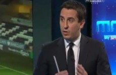 VIDEO: Neville and Carragher's debate on the Premier League top scorer