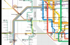 They've made a brand new NYC subway map for the Super Bowl