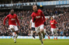 As it happened: Spurs v Manchester United, Premier League