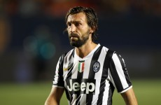 Bearded gent Andrea Pirlo suffers knee ligament injury